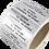 Thumbnail: Plomby srebrne VOID 70*19 mm 500 szt