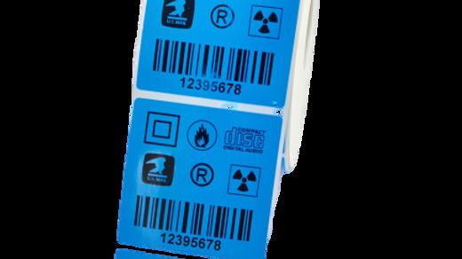 Etykiety polipropylenowe 60*60 mm 1000 szt