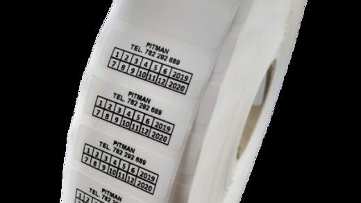 Plomby biały VOID 30*11 mm 500 szt