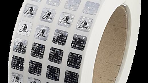 Plomby hologramowe VOID 10*10 mm 500 szt