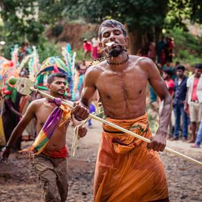 Путешествие по Шри Ланке. Фестиваль Катарагама Эсала.