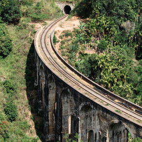Путешествие по Шри-Ланке. Девятиарочный мост (Nine Arch Bridge)