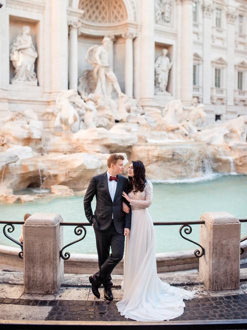 Рим. Настя и Егор