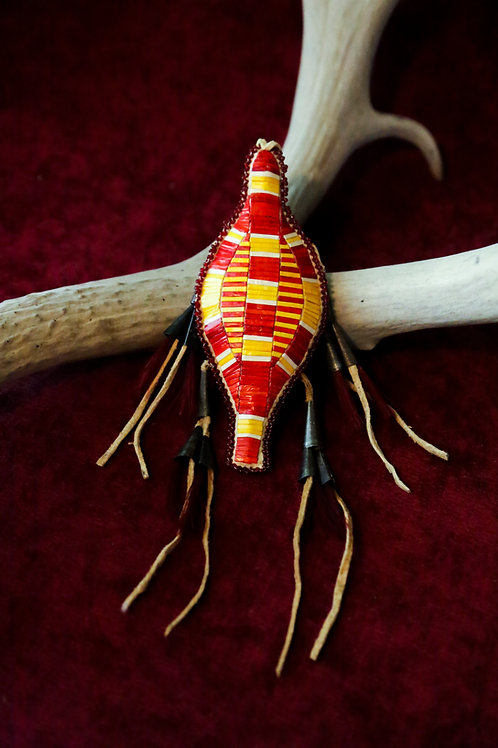 Lizard Porcupine Quillwork Natal Keepers
