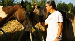 Sacred Healing Circle Native Horse
