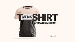 Men's T-shirt Animated Mockup