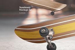 Skateboard Mockups Set