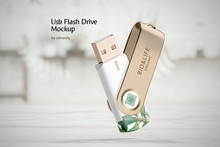 Usb Flash Drive Mockup