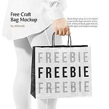 Freebie! Craft Bag Mockup