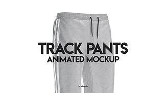 Track Pants Animated Mockup