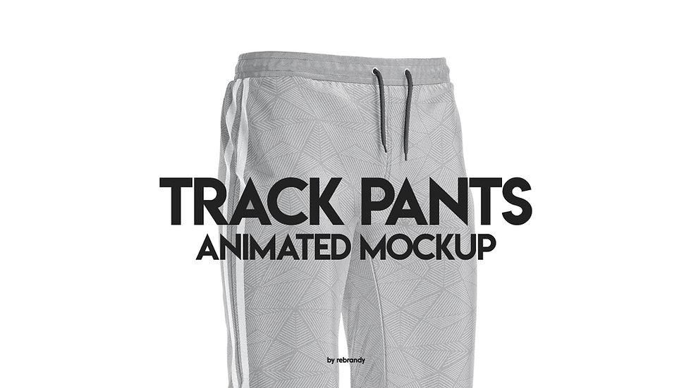 Track Pants Animated Mockup