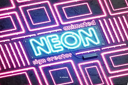 Neon Animated Sign Creator