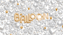 Animated Balloon Font | Top Pack
