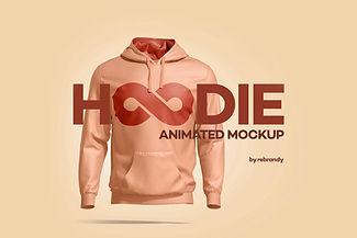 Hoodie Animated Mockup