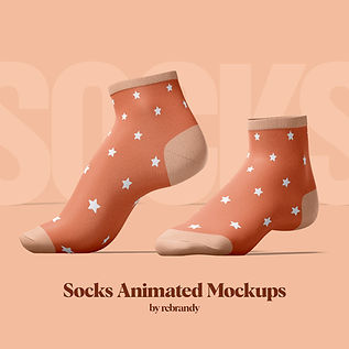 Socks Animated Mockups