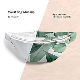 Waist Bag Mockup