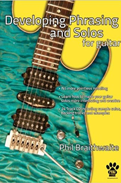 Developing Phrasing and Solos Book and CD