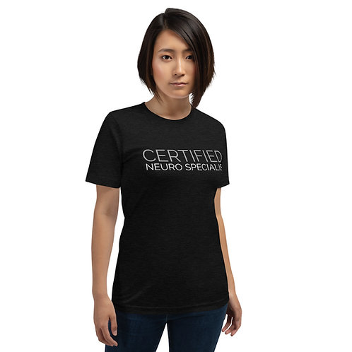 CNS Unisex Short-Sleeve T-Shirt (Black)