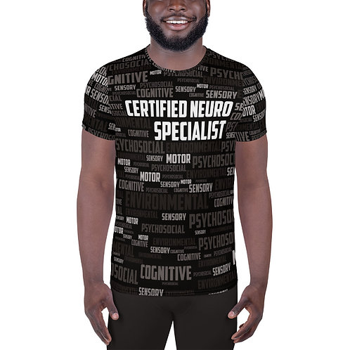 CNS All-Over Print Men's Athletic Jersey