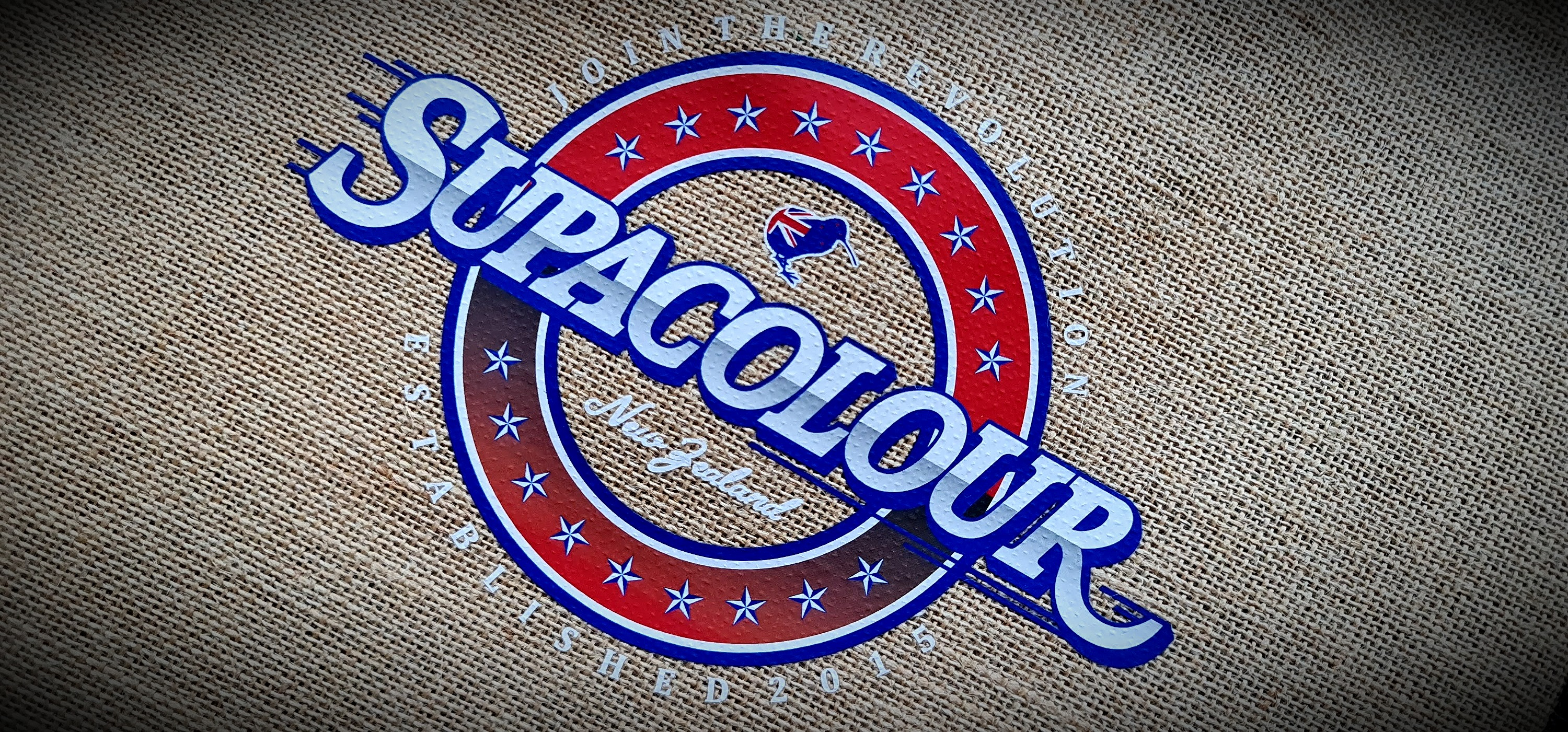 SupaColour Jute Bag