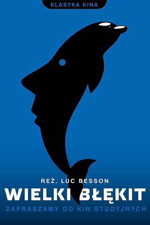 Wielki błękit - plakat