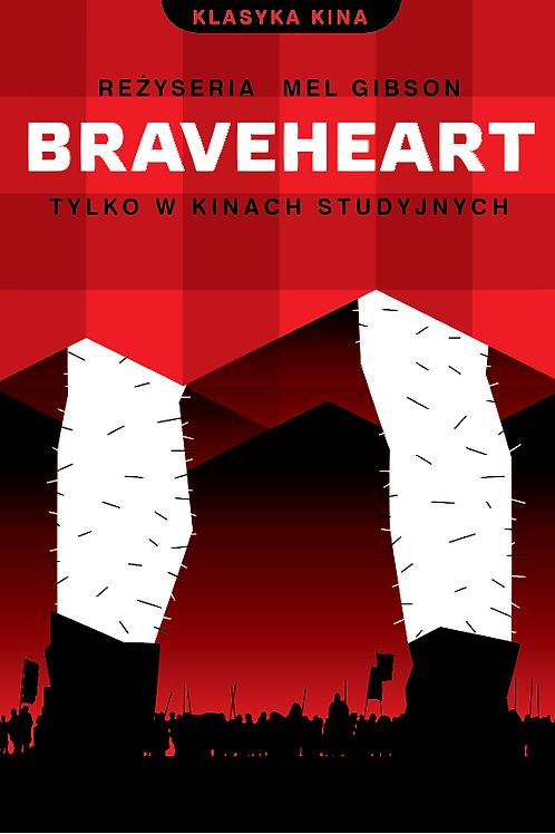 Braveheart - waleczne serce - plakat