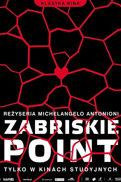 Zabriskie Point - plakat