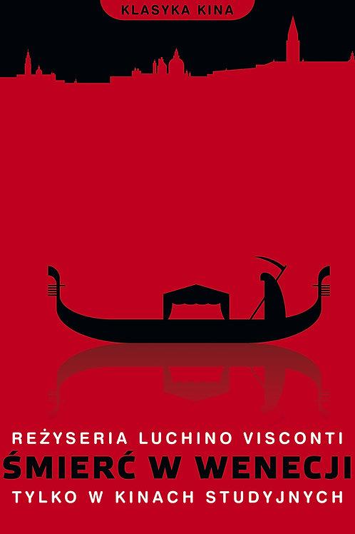 Śmierć w Wenecji - plakat