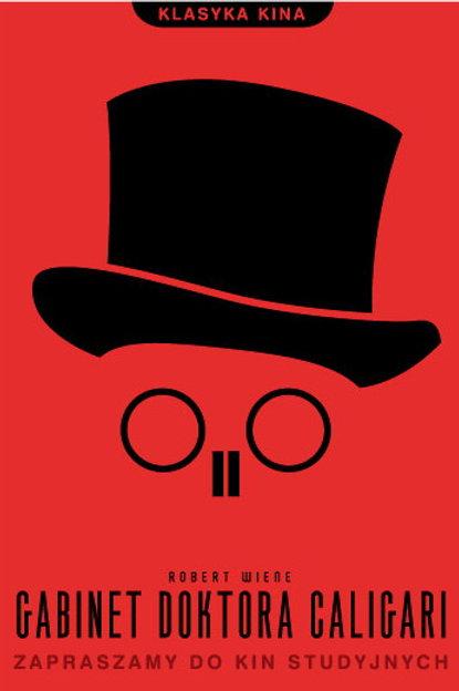 Gabinet doktora Caligari - plakat