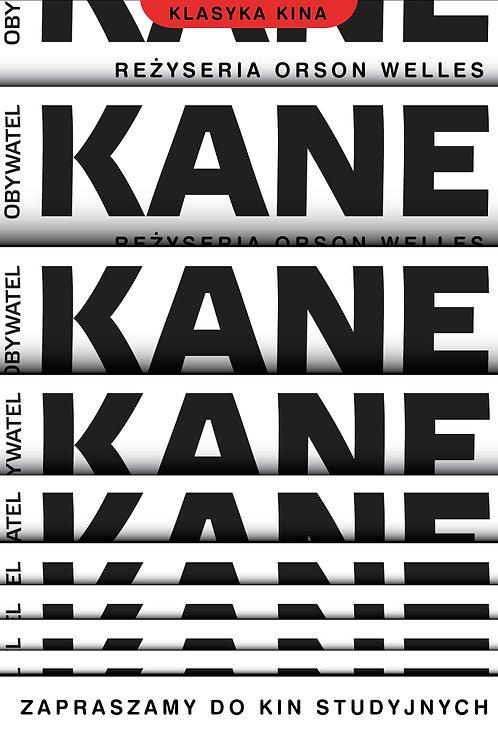Obywatel Kane - plakat