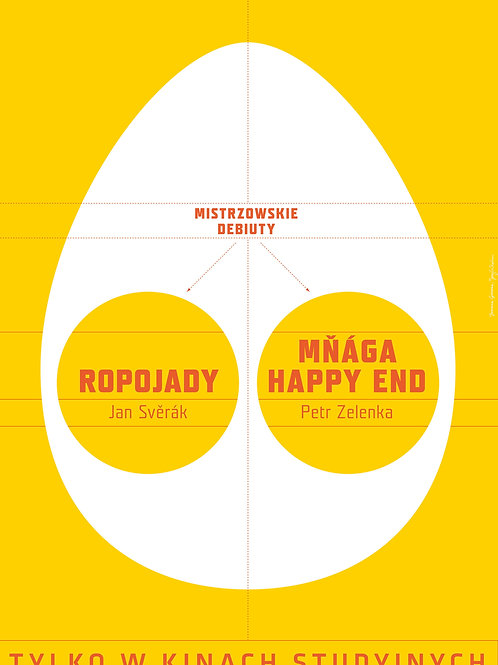 Ropojady + Manga - Happy end - plakat
