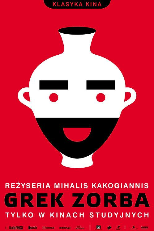 Grek Zorba - plakat