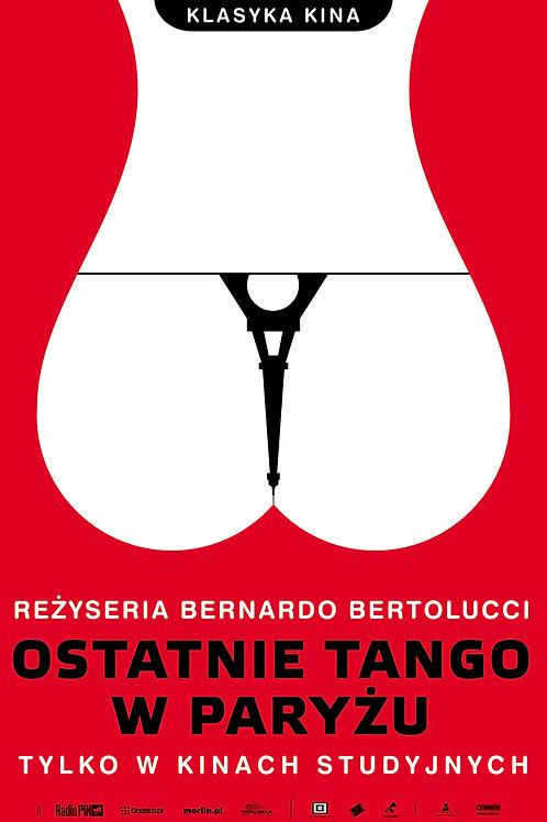 Ostatnie tango w Paryżu - plakat