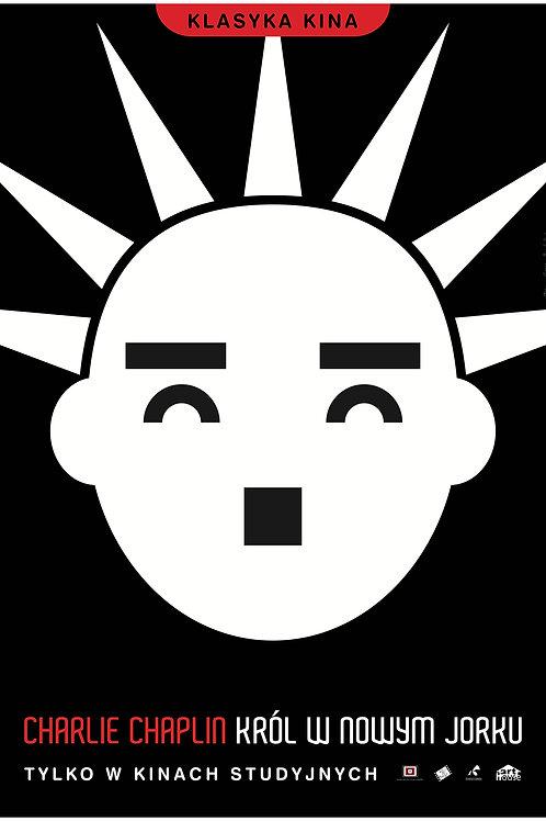 Król w Nowym Jorku - plakat