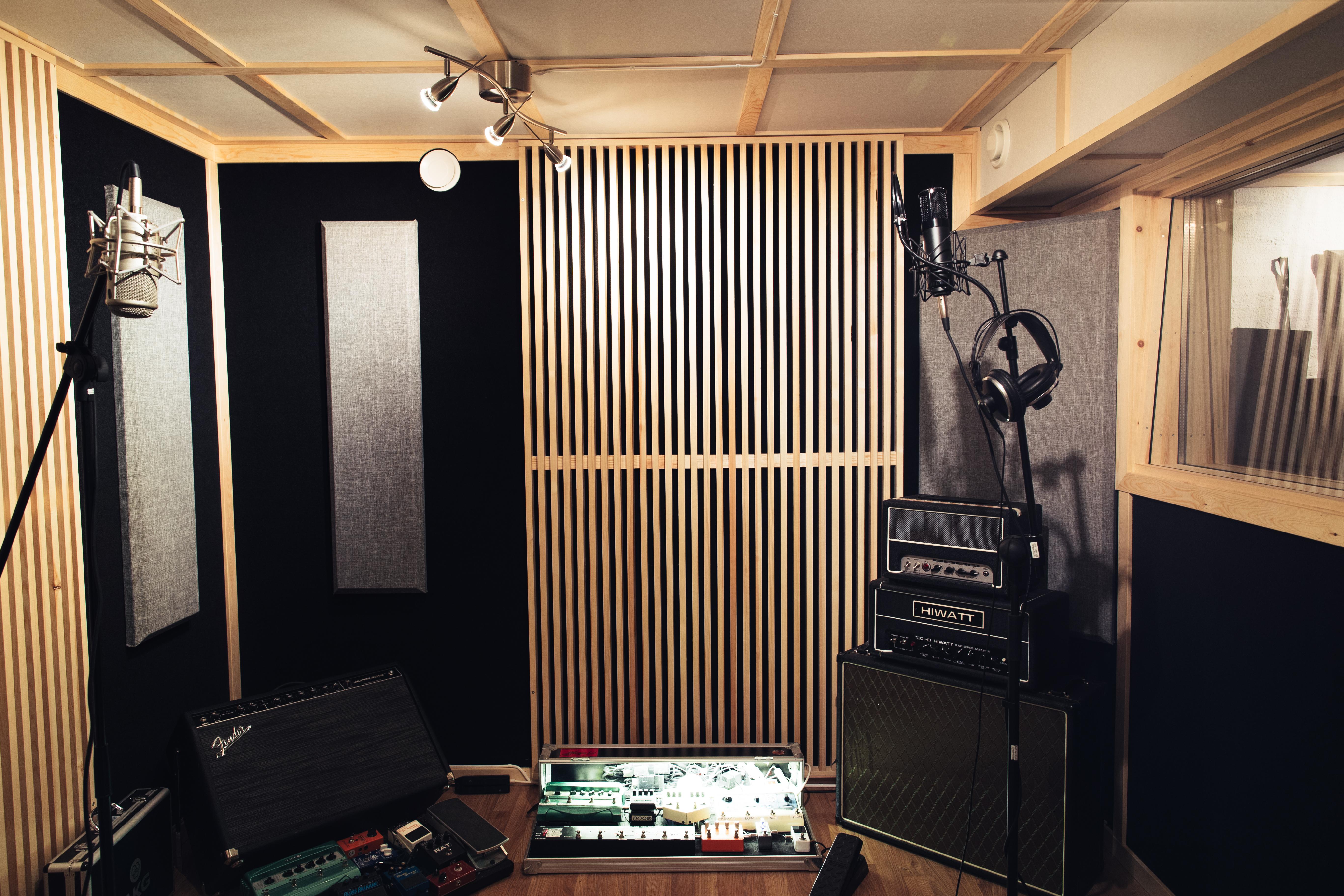 Opptaksrom i Studio C