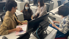 Tステポスター完成/学長への報告会