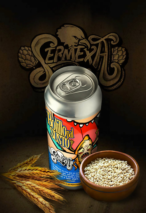 Bolillo pal Susto   Mexican Wheat Beer   SerMexa