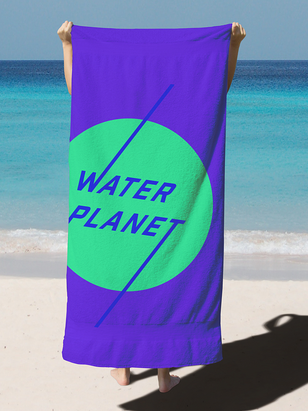 Brand identity design for water planet