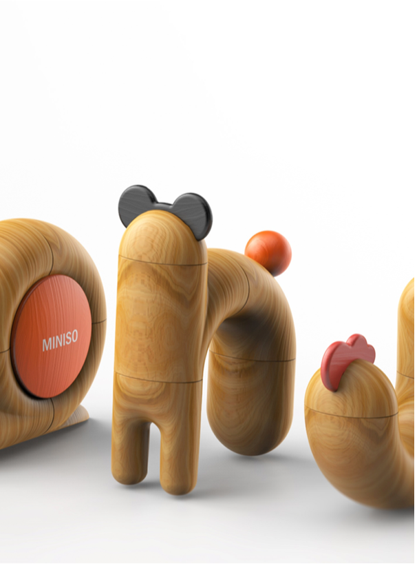 Wood toy for children