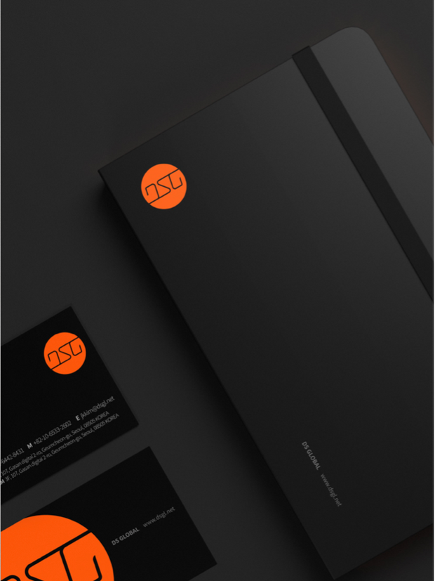 DS Global Brand identity design