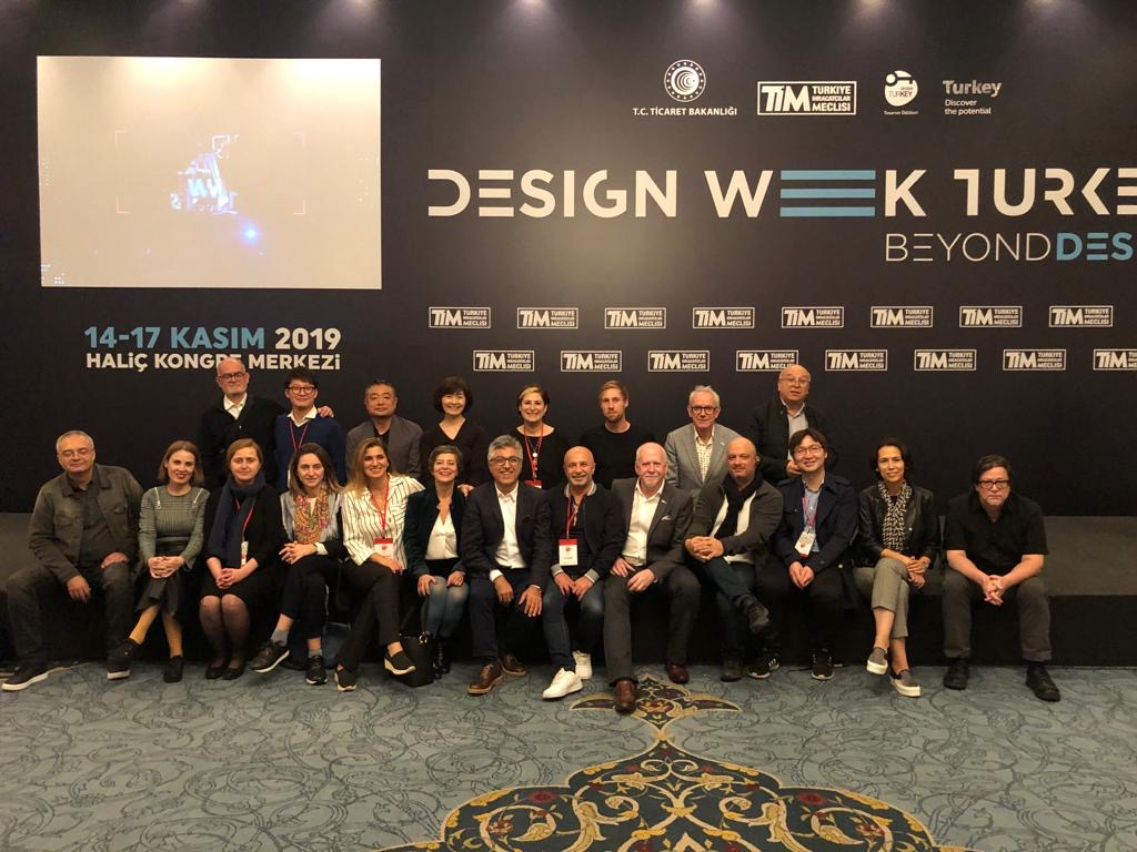 Jury in Turkey Design Week