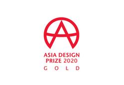 Asia design prize GOLD winner
