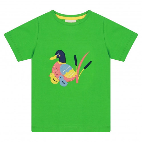 Piccalily Duck Print T Shirt