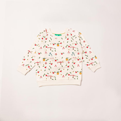Little Green Radicals Toadstool  Sweatshirt