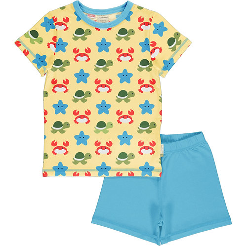 Maxomorra Pyjama Set Short Sleeve