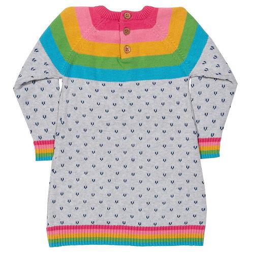Kite Organic Rainbow Knit Dress