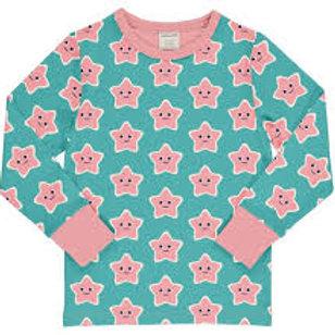 Maxomorra Starfish LS Top