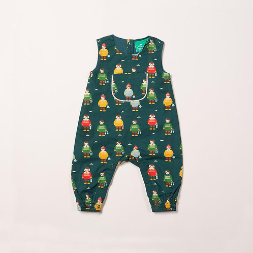 Little green radicals Nordic Friends Dungarees