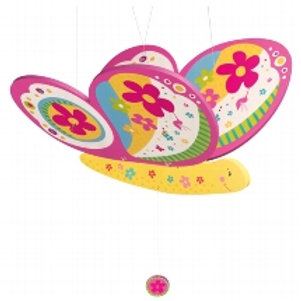 Swinging Butterfly Mobile