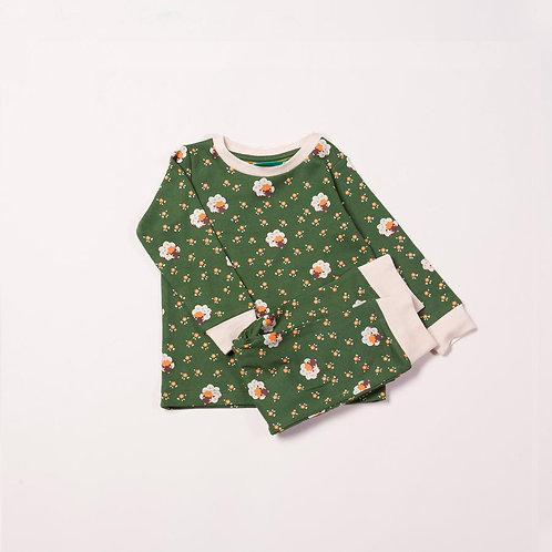 Little Green Radicals Sheep PJ Set